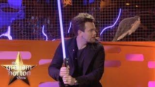 Download Ewan McGregor Shows Off His Lightsaber Skills | The Graham Norton Show Video