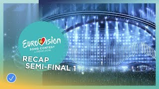 Download OFFICIAL RECAP: The first Semi-Final of the 2018 Eurovision Song Contest Video