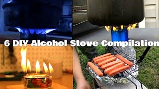 Download 6 DIY Alcohol Stove Compilation Video