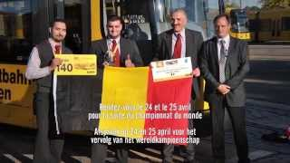 Download Championnat d'Europe du meilleur conducteur de tram - Europeeskampioenschap van beste trambestuurder Video