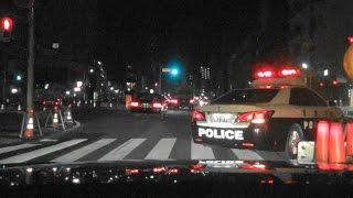 Download 鳴り響くサイレン!PC2台と警官乗せて緊急でUターンからのドライブれっつらごー Video
