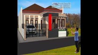 Download Rumah Minimalis Lantai 1 Modern House (7.5x20) Video