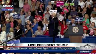 Download TRUMP STAREDOWN: President Takes On Protester At MAGA Rally Video