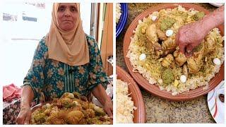 Download أشهر أكلة مغربية عند إستقبال مولود جديد مع لالة حادة Video