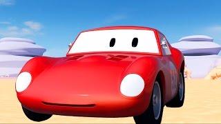Download Spid la voiture de course | Monster Truck, bulldozer, Star Wars | Dessins animés pour enfants Video