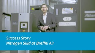 Download Atlas Copco nitrogen skid at Breffni Air Video