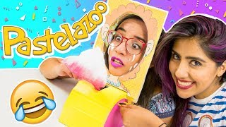 Download PASTELAZO CASERO DIY con KAREN POLINESIA ¡TERMINA MAL! ✎ Craftingeek Video