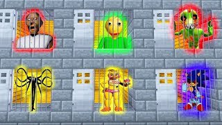Download Minecraft PE : DO NOT CHOOSE THE WRONG SECRET PRISON BASE! (Slenderman, Sonic.exe, FNAF) Video