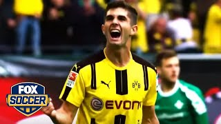 Download Christian Pulisic's top 5 goals as an 18-year-old | FOX SOCCER Video