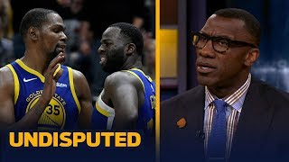 Download Shannon Sharpe says 'it's not a big deal' after KD and Draymond's heated exchange | NBA | UNDISPUTED Video