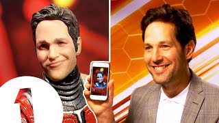 Download ″It did make me laugh!″ Ant-Man's Paul Rudd on his RIDICULOUS action figure. Video