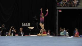Download Emily Schild - Floor Exercise - 2016 P&G Gymnastics Championships – Sr. Women Day 2 Video