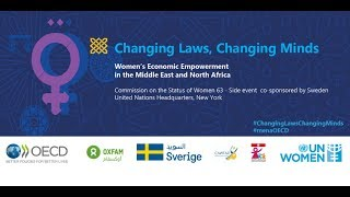 Download Changing Laws, Changing Minds - Women's Economic Empowerment in the MENA Region Video
