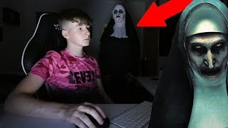 Download ″THE NUN″ CREEPY SCARE PRANK ON KID! Video