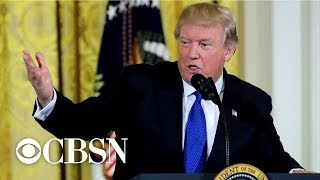 Download Trump walks back statements on ″oppo research″ Video