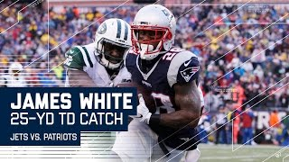 Download Tom Brady Lobs a Perfect TD Pass to James White! | Jets vs. Patriots | NFL Week 16 Highlights Video