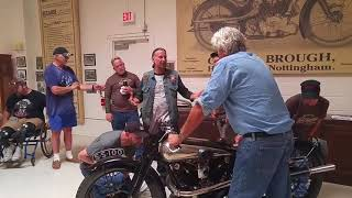 Download Jay Leno surprises vets with private tour of Jay Leno's Garage. Video