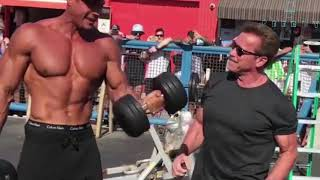 Download 70 Year Old Arnold Schwarzenegger Goes Back To Muscle Beach Video