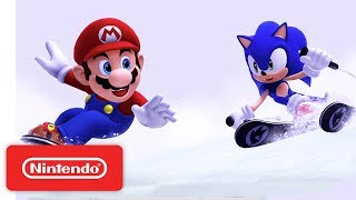 Download Mario & Sonic at the Sochi 2014 Olympic Winter Games Gameplay Trailer Video