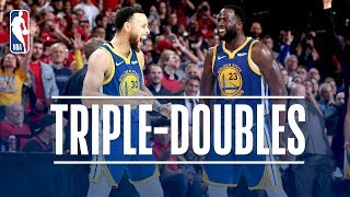 Download Stephen Curry & Draymond Green Make Triple Double HISTORY | May 20, 2019 Video