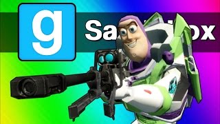 Download Gmod Sandbox Funny Moments - Sniper Battle, Ninja Vanish, C4 Cocoon! (Garry's Mod) Video