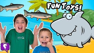 Download Summer Surprise Toys with a Hungry Toy Shark Video