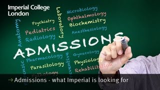 Download Admissions - what Imperial is looking for Video