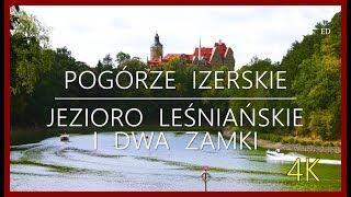 Download 🇵🇱 POGÓRZE IZERSKIE 🚶 🏰 DWA ZAMKI NAD JEZIOREM LEŚNIAŃSKIM 🏖️ Video