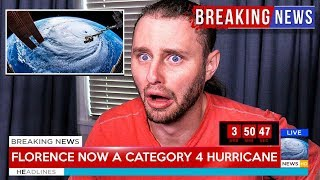Download Hurricane Florence is about to hit my house... Video