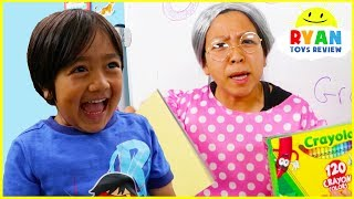 Download Ryan Pretend Play Being Good on the First Day Back To School!!! Video