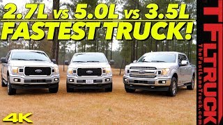 Download Can a V8 Still Compete in a Turbocharged World? We Tune & Drag Race Three Trucks To Find Out! Video