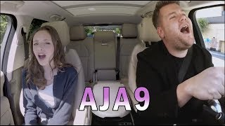Download Carpool Karaoke with James Corden & Aja9 Video