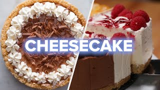 Download 5 Creamy And Chocolatey Cheesecake Recipes • Tasty Video