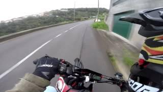 Download Yamaha DT125R SM & WR125X (x2) DT125R DT125X || GoPro Hero3+ || Cloudy Sunday (P2) || Madeira Island Video