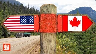 Download 25 FUNNY Differences Between Canadians and Americans Video
