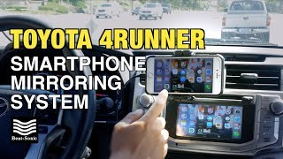 Download 2014-2018 Toyota 4Runner Smartphone Mirroring System Installation Beat-Sonic Video