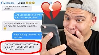 Download SONG LYRIC TEXT PRANK ON EX-GIRLFRIEND WITH ″Treat You Better″ by Shawn Mendes!! (CAUGHT CHEATING) Video