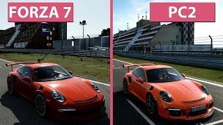 Download [4K] Forza Motorsport 7 vs. Project CARS 2 Graphics Comparison Video