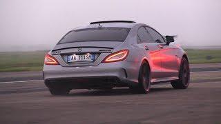 Download BRABUS Mercedes-Benz CLS63 S AMG La Performance - Revs, Accelerations, Drag Racing! Video