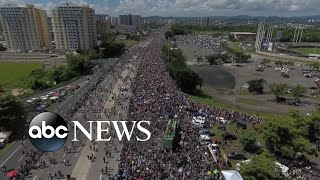 Download Protests against governor expand across Puerto Rico Video