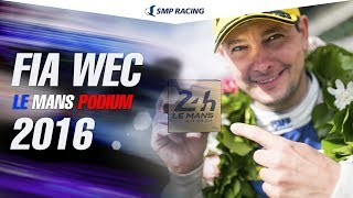 Download SMP Racing Le Mans podium Video