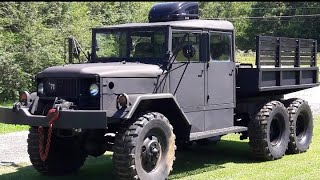 Download Mounting 15.5/80R20 Tires on Original M35A2 Deuce and a Half Split Ring Rims Video