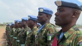 Download Nigerian Military Contingent & Officers of NIBATT 36 & 37 receive UN Medals Video