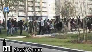 Download OTAN 2009 - Emeutes et arrestations au Neuhof, sud de Strasbourg - NATO Summit Battle France Video