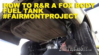 Download How To R&R a Fox Body Fuel Tank #FairmontProject Video