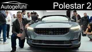 Download Polestar 2 mid-size sedan EV REVIEW - Autogefühl Video