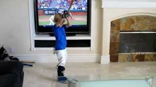 Download When You Let Your Kid Play Ball in the House, 4 year-old Baseball Christian Haupt cathy-byrd Video