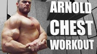 Download Arnold Chest Routine - Classic Bodybuilding Workout Video