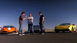 Download Lamborghini drag-race | Top Gear USA Video