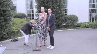 Download Diana Taurasi and Penny Taylor Speak on White House Visit Video